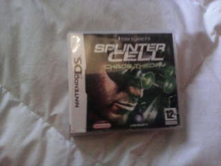Juego nintendo ds splinter cell