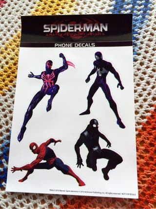 Pegatinas Spiderman: Shattered Dimensions