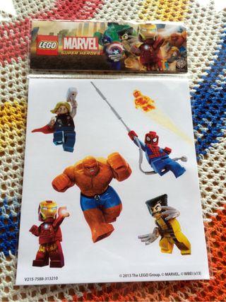 Pegatinas Lego Marvel Super Heroes