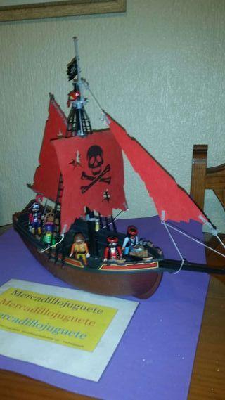 Barco pirata de playmobil a o 1991 de segunda mano por for Barco pirata playmobil