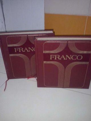 2 Libros franco y los españoles