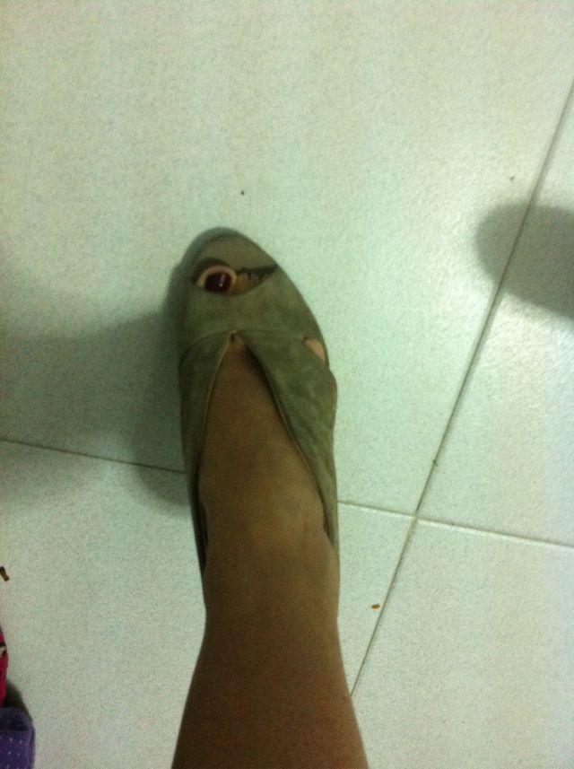 Zapato Abierto Piel zara