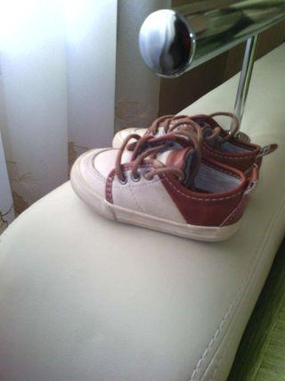 Zapatillas bebe ZARA-20-piel
