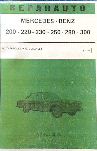 Manual De Taller Del Mercedes Benz 200-220-230-250-280-300
