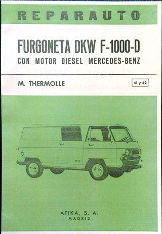 Manual De Taller De La Furgoneta DKW F-1000-D