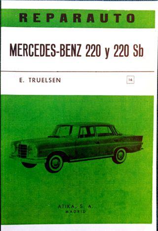 Manual De Taller Del Mercedes Benz 220 Y 220 Sb