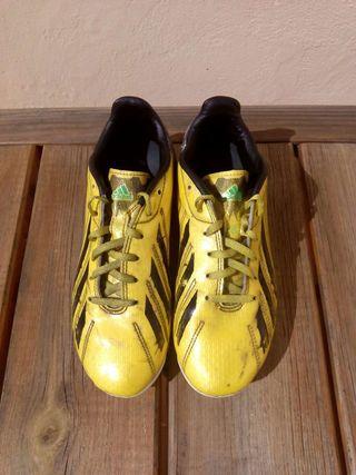 Botas de futbol talla 38 ²/³