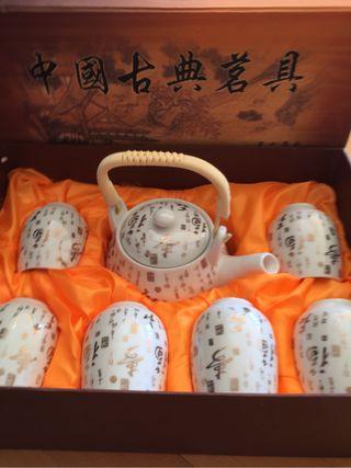 Juego de Té comprado en Shanghai