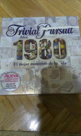 Trivial Pursuit 1980. Edición especial años 80