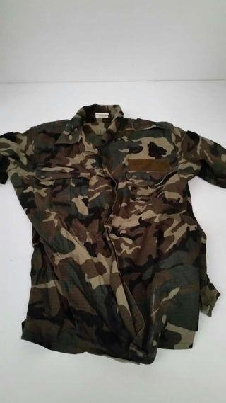 Camisa camuflaje militar manga corta talla 1 C