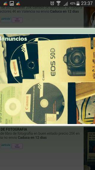 Manual de cámara canon eos 50 d