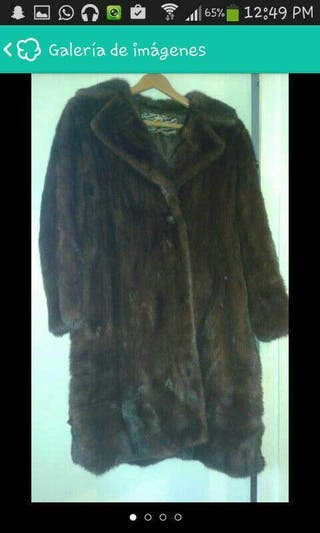 Vender un abrigo de vison en barcelona