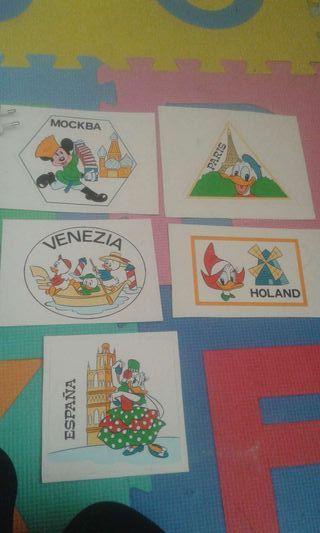 Láminas originales Disney