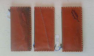 Estuches de cuero artesanales