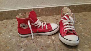 2 pares de zapatillas Converse n°32