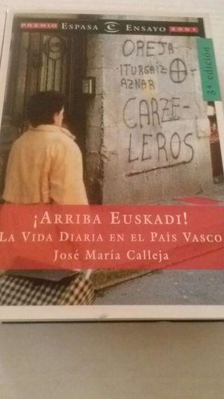 Libro ¡ARRIBA EUSKADI!. LA VIDA DIARIA EN EL PAÍS VASCO