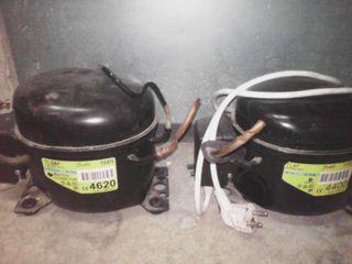 dos compresores de nevera de casa