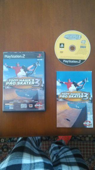 Tony Hawk Pro Skater 3 (PS2 Playstation 2)