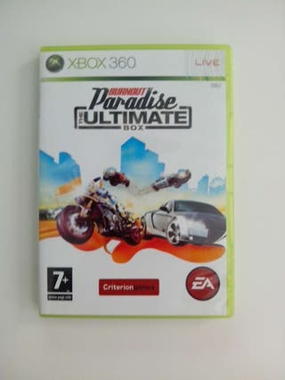 Burnout Paradise XBOX 360