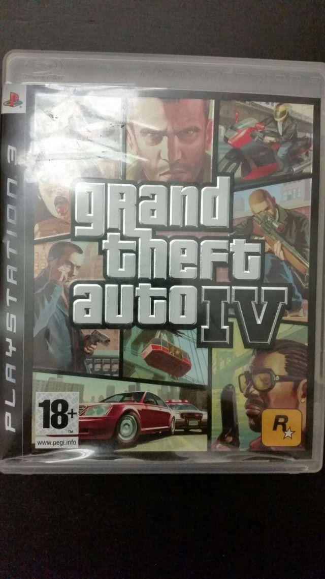 Grand Theft Auto 4 Ps3