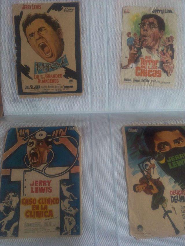 Colección carteleras de cine antiguas