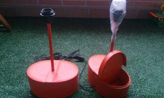 1 o 2 lámparas-joyeros de piel Salvador Bachiller