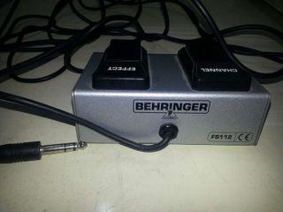 Pedal Behringer Fs112