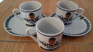 Tazas de cafe Valencia CF
