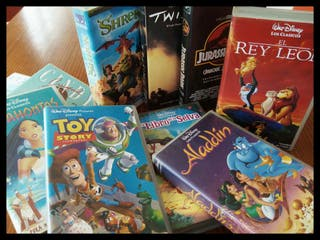 Coleccion de videos VHS