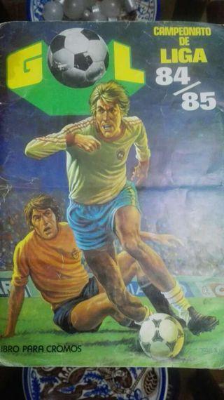 Albúm cromos liga 84/85