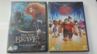 BRAVE (INDOMABLE) Y WRECK IT RALPH