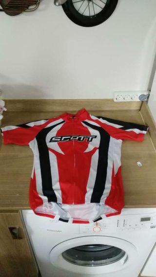 Camiseta bicicleta scott