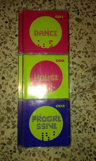 3 CDs anual.