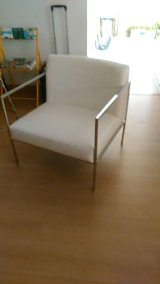 Sillon lounge piel natural diseño italiano nuevo