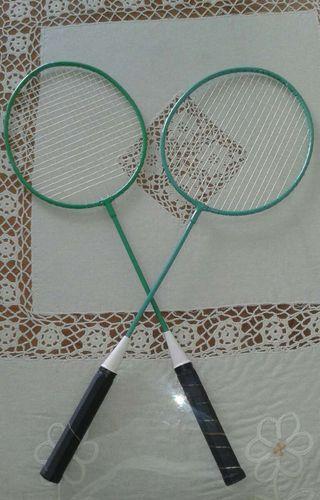 2 raquetas badminton