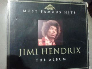 2cd jimi hendrix the album most famous hits