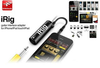 Irig guitarra bajo amplitube para apple