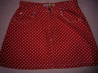 Minifalda vaquera de Zara. Talla 38
