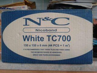 #ASAP 12 Boxes of WHITE Tiles