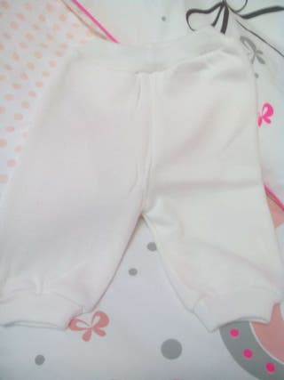 Pantalon lana doble, talla 6 meses