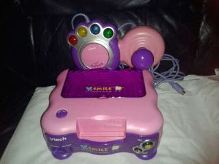 #ASAP V SMILE PINK LEARNING GAMES CONSOLE