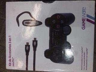 Mando PS3 + Auricular inalambrio + cable HDMI