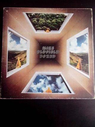 Discos. Mike Oldfield caja de 4 vinilos + book.