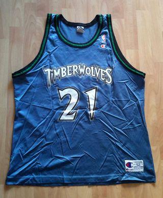 Camiseta oficial baloncesto de la NBA (T. XXL)