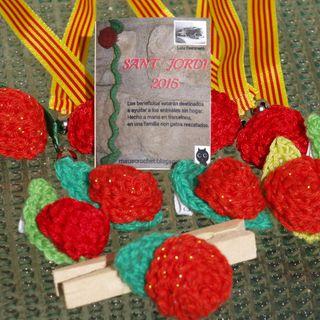Roses solidaries per Sant Jordi
