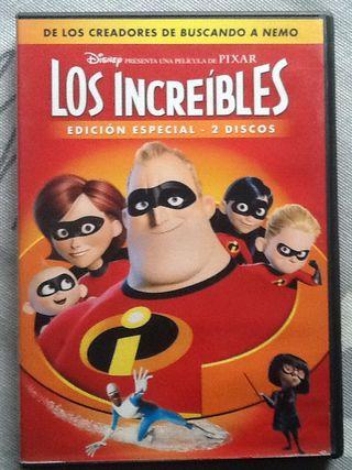 Los Increibles 2dvd