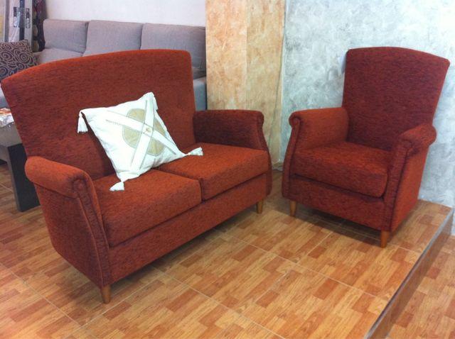 Sofa 2 plazas + sillon. NUEVO!