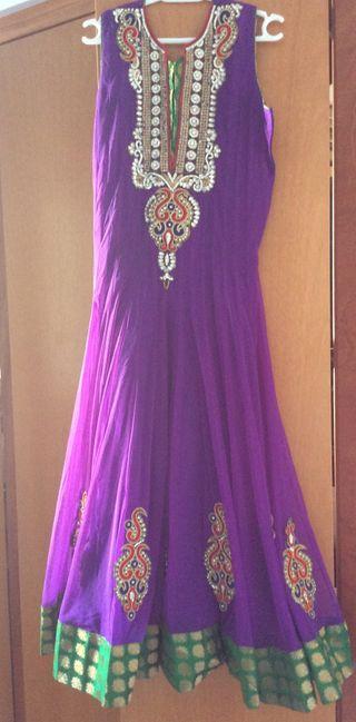 Vestido Autentico indio De Disenyo