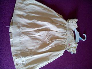 Vestido micropana talla 6 meses