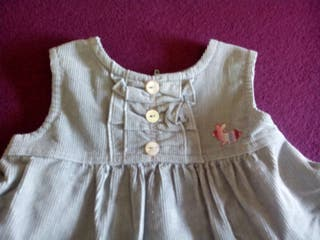 Vestido micropana 6 meses